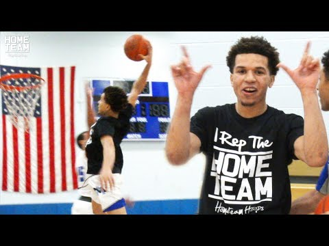 DON'T JUMP With Cole Anthony! Crazy Pre Game Dunk Session