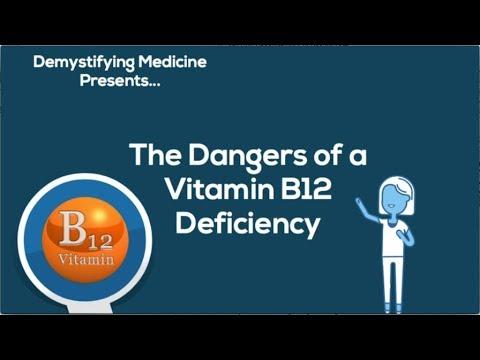 Dangers of Vitamin B12 Deficiency