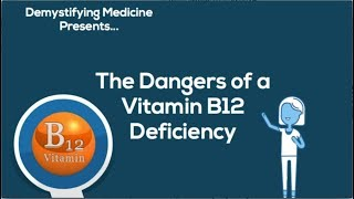 Dangers of Vitamin B12 Deficiency