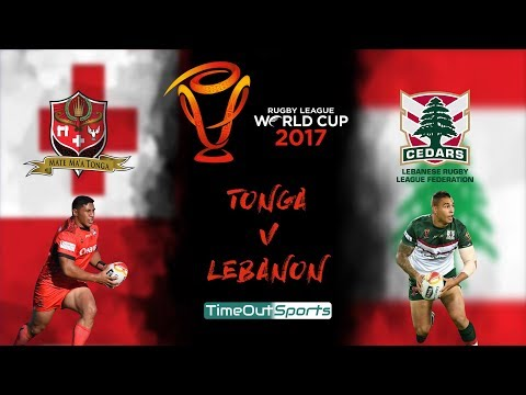 Tonga vs Lebanon (18/11/17) Extended Highlights   Rugby League World Cup 2017