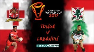 Tonga vs Lebanon (18/11/17) Extended Highlights | Rugby League World Cup 2017