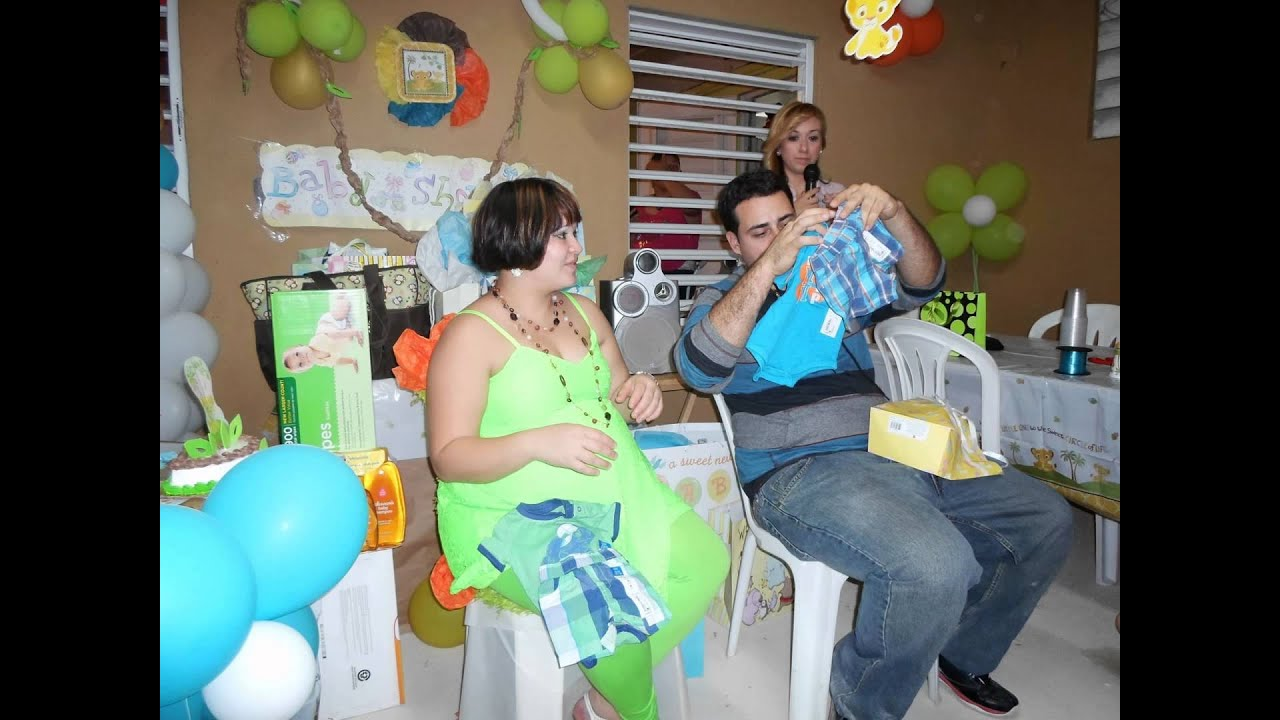 lion king theme baby shower