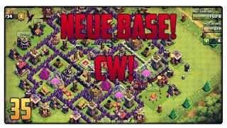 Let´s Play Clash of Clans #35 [GER] | NEUE BASE! Clankrieg! | Vicevice