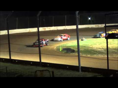 Doe Run Raceway Mini Stock Feature 8-14-15