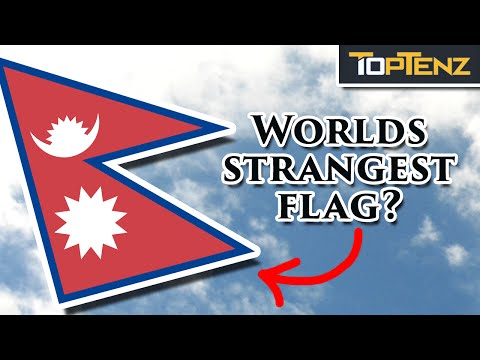 Top 10 National FLAGS and Their Histories