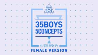 [ FEMALE VERSION ] PRODUCE 101 S2 03. KNOCK -  열어줘 (OPEN UP)