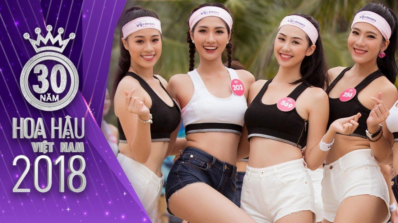 Lộ diện Top 3 Người Đẹp Thể Thao sở hữu thân hình cực chuẩn   Hoa Hậu Việt Nam 2018