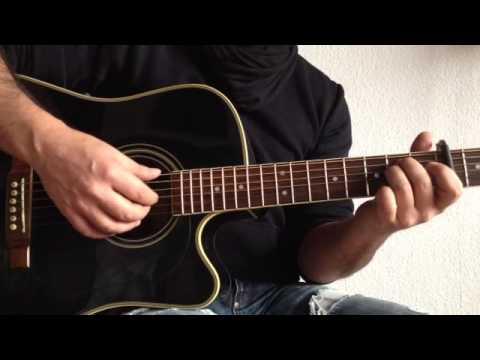 """Halt dich an mir fest"" an der Guitarre spielen - Revolverhead nachspielen - Instrumente lernen"