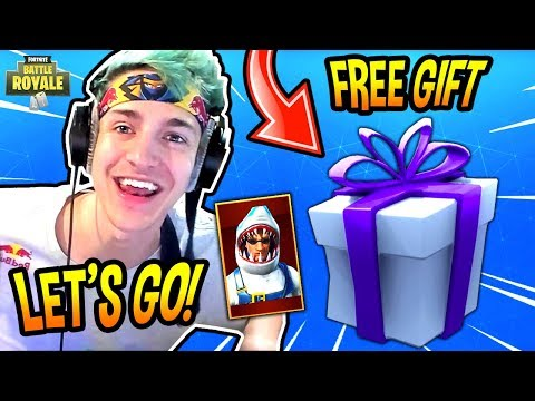 NINJA REACTS TO *NEW* GIFTING SYSTEM COMING! (TRADE SKINS!) Fortnite FUNNY & SAVAGE Moments