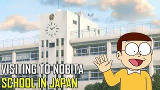 A VISIT TO NOBITA'S SCHOOL || DORAEMON MUSEUM || PART 3