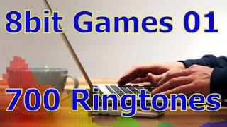 8bit Games 01 - For iOS Devices - iPhone, iPad - 700 Ringtones