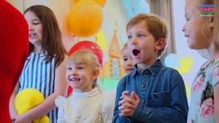 Весенний праздник в детской студии