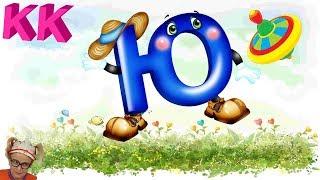Буква Ю Русский алфавит в картинках Учим Первые буквы с Клавой