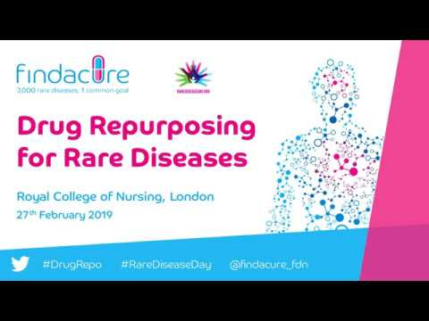 Drug Repurposing for Rare Diseases Conference 2019 - Catherine Lawrence & Janet Bloor