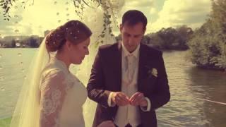 Свадьба в шатре у реки  , красивая история