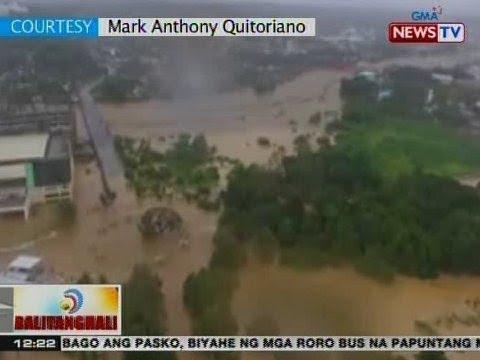 BT: Ilang lugar sa Cagayan de Oro City, lubog sa baha