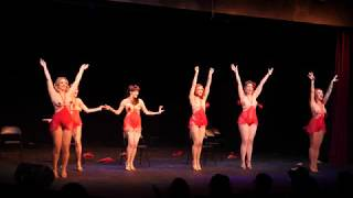 TUSH! Burlesque - PolyGlamorous Group Chair Dance