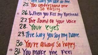 50 reasons why I love you