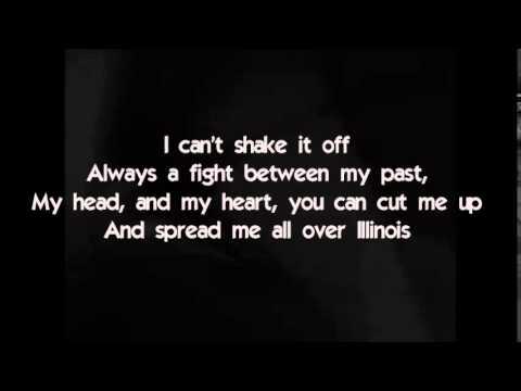 Real Friends - Spread Me All Over Illinois (Lyrics)