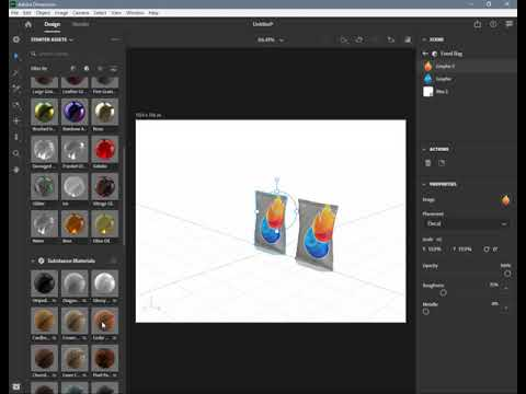 Adobe Dimension 2020 - 23 Past as Instance (in English)