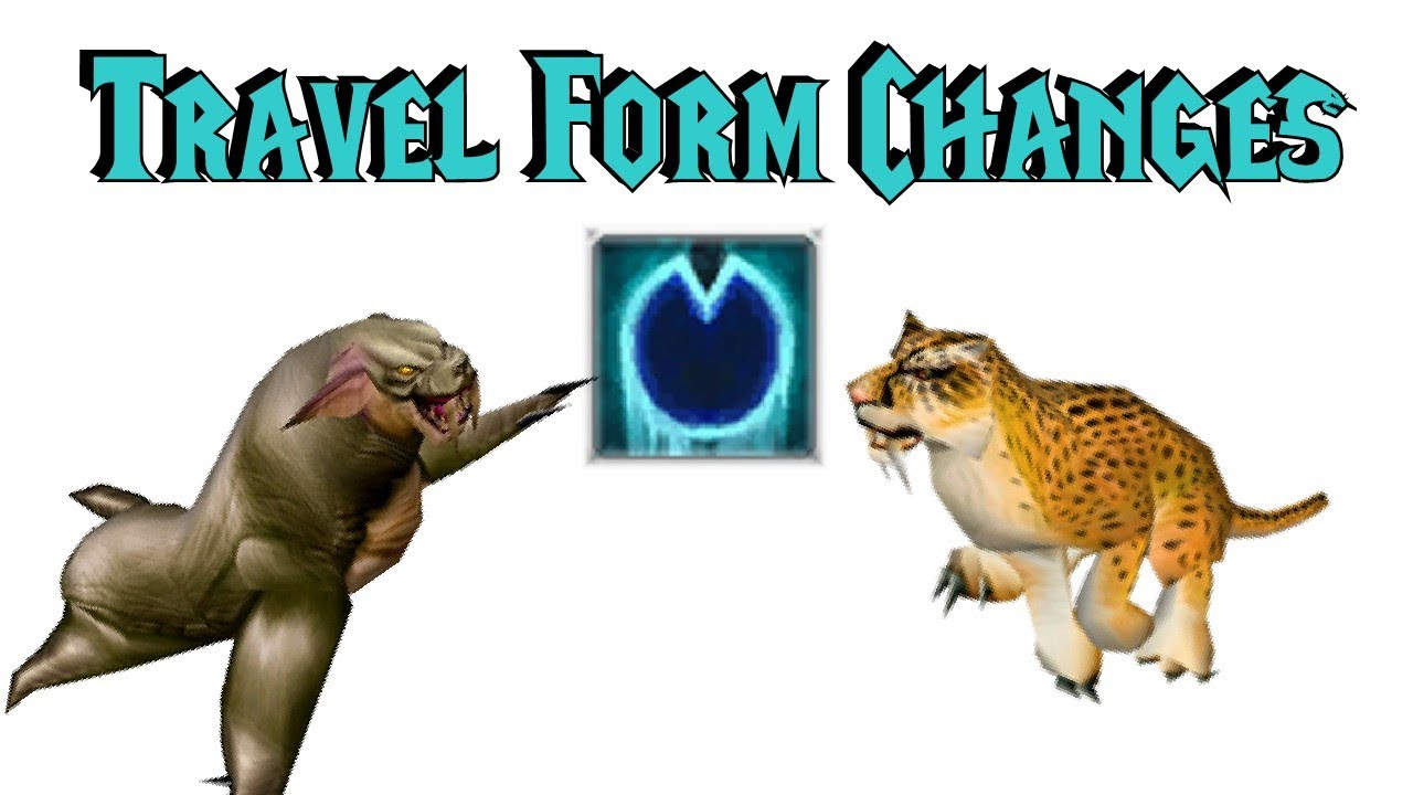 Druid Travel Form Changes/Homogenisation - WoD Alpha - YouTube