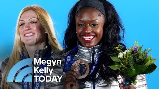 Olympic Bobsledder Aja Evans Pushes Megyn Kelly Out Of Her Comfort Zone | Megyn Kelly TODAY