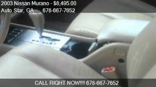 2003 Nissan Murano SE AWD 4dr SUV for sale in Norcross, GA 3