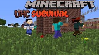 "Minecraft Minigames: ""Survival+UHC"" : Не знам какво става, не знам какво се случва."