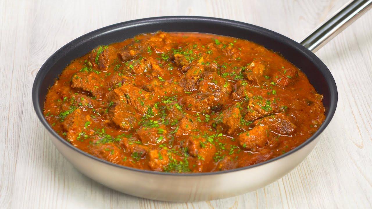 Виндалу - тушеная говядина в ароматных специях. Рецепт от Всегда Вкусно!