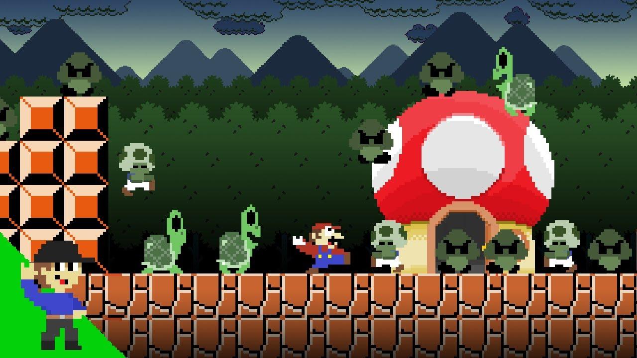 Level UP: Mario and the Zombie Apocalypse