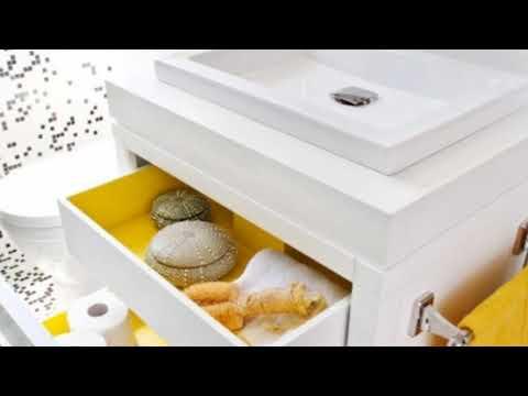 Stylish Sunny Yellow Bathroom Design Ideas for Your Home.mp4