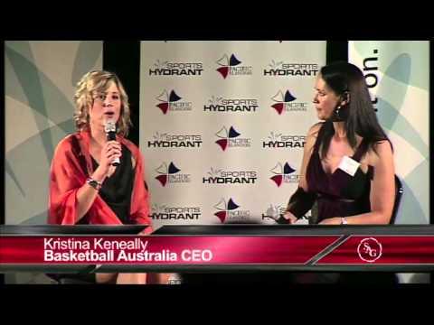 Kristina Keneally talks Basketball