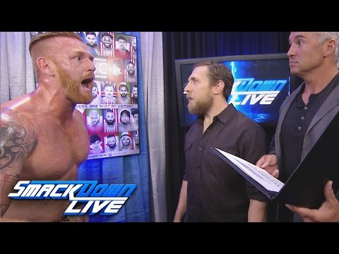 Heath Slater tells off Shane McMahon and Daniel Bryan: SmackDown Live, Aug. 9, 2016