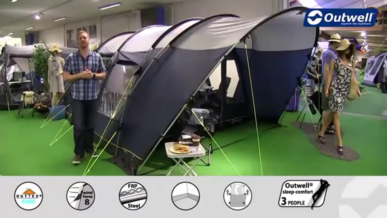 Outwell Denver 4 Tent 2016 Innovative Family Camping