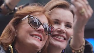Susan Sarandon and Geena Davis Recreate Iconic 'Thelma and Louise' Scene for 25th Anniversary