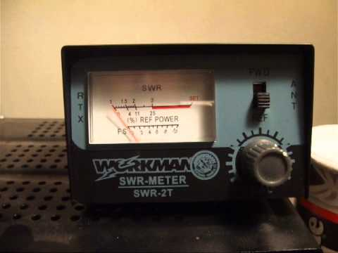 Workman Swr 2t Swr Meter Youtube