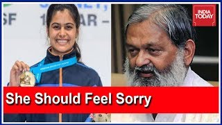 Haryana Min Tweets 'Disgusting' Reply After Shooter Manu Bhaker Reminds Him of Rs 2 Crore Promise