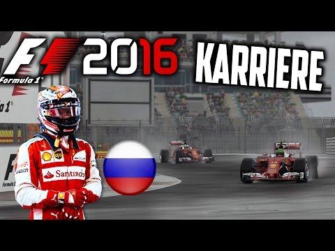 F1 2016 KARRIERE PART 4: VETTELS RACHE IM REGEN VON SOTCHI?? (RUSSLAND) [Deutsch/German]