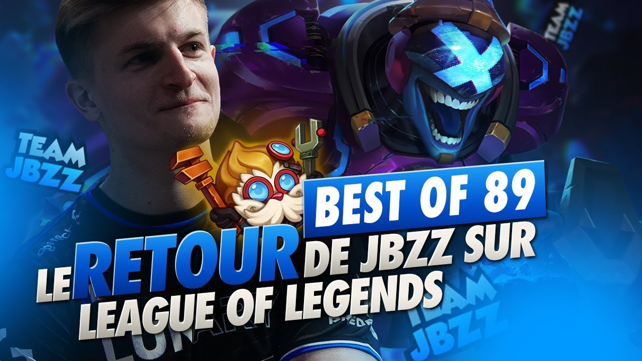BEST OF SOLARY #89 ► LE RETOUR DE JBZZ SUR LEAGUE OF LEGEND
