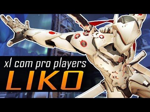 X1 COM PRO PLAYERS #04 - Liko, quando você pensar em matar ele você já morreu faz tempo!