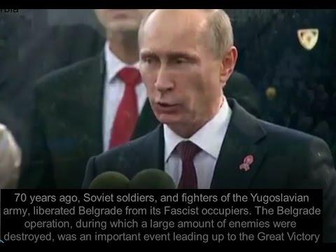 Putin in Serbia: the USSR won WWII