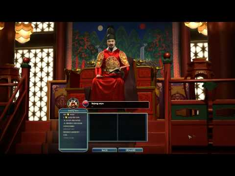 Civilization V Leader Sejong the Great