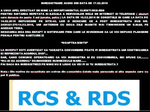 Video 1 - RCS -RDS