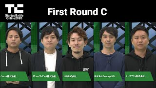 TechCrunch Startup Battle Online 2020/First Round グループC