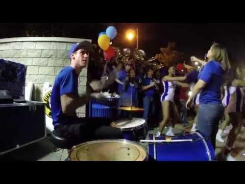 Drumming Mini-Kit Style @ a GSU Pep Rally w/ the Georgia State Marching Band
