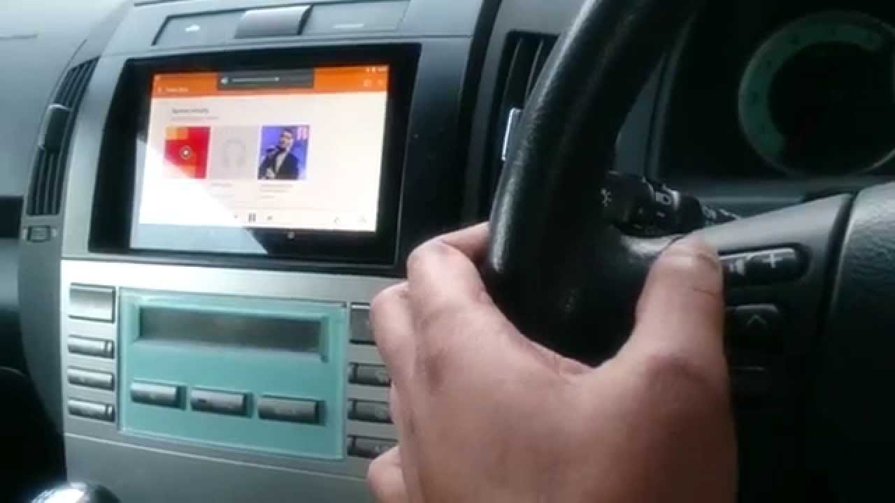 Car stereo with aux and cd