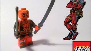 Как сделать LEGO DeadPool своими руками.