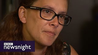 Grenfell survivor: 'You just killed my son' - BBC Newsnight