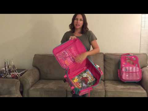 Traveling with kids? Check-out this review of Stephen Joseph's luggage