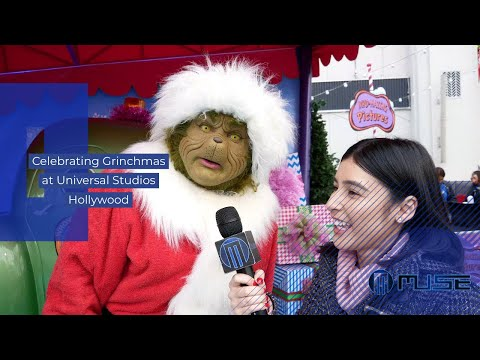 Grinchmas at Universal Studios Hollywood with Amanda Garcia